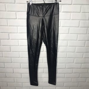 3 for $25 - Faux leather legging